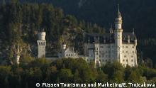 Deutschland Pressefotos vom Schloss Neuschwanstein