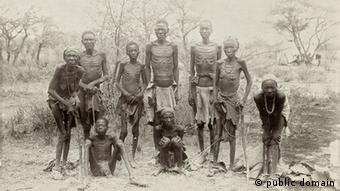Des survivants du génocide contre les Hereros : leurs descendants demandent réparation. Image/Archives