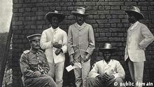 Theodor Leutwein, Herero-Führer Samuel Maharero, ua Weitere Einzelheiten Theodor Leutwein, Zacharias Zeraua und Manasse Tyiseseta 1895