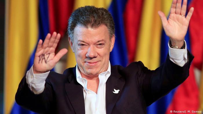 Kolumbien Juan Manuel Santos (Reuters/J.-M. Gomez)