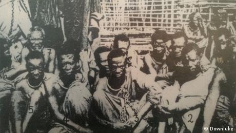 Maji-Maji warriors in 1906 (Downluke)