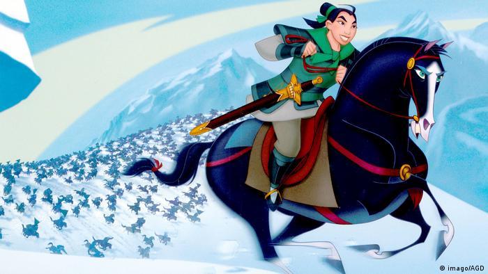 Standbild vom Disneys Film Mulan