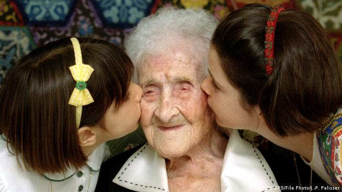 Frankreich Jeanne Calment (REUTERS/File Photo/J.-P. Pelisser)