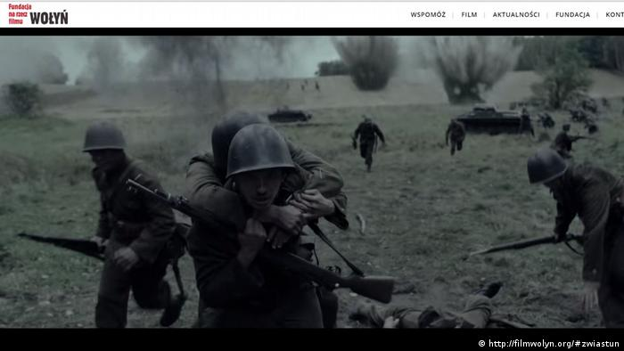 Screenshot vom Film Wolyn (http://filmwolyn.org/#zwiastun)