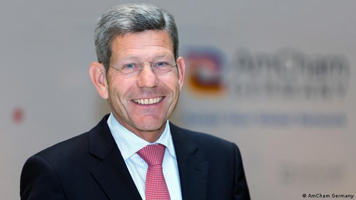 Präsident der American Chamber of Commerce Bernhard Mattes