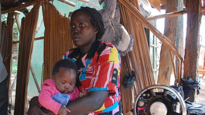 Uganda Ehemalige Entführungsopfer der Lord's Resistance Army Joyce Amono