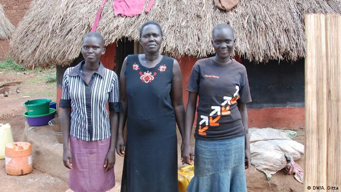 Uganda Ehemalige Entführungsopfer der Lord's Resistance Army Anyira Constance