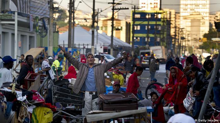 Cracolandia en Sao Paulo (Getty Images)