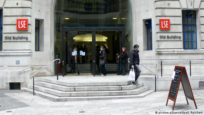 Großbritannien London - LSE - London School of Economics (picture-alliance/dpa/J. Reichert)