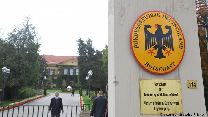 Türkei Die deutsche Botschaft in Ankara