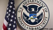 USA - Emblen des US Department of Homeland Security