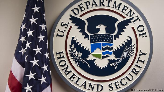 USA - Emblen des US Department of Homeland Security (Getty Images/AFP/S. Loeb)