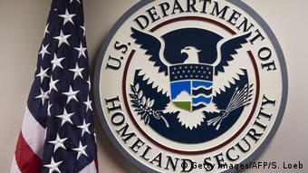 USA - Emblen des US Department of Homeland Security