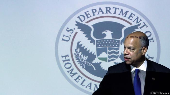 USA Ministerium für Innere Sicherheit der Vereinigten Staaten - Minister Jeh Jonson