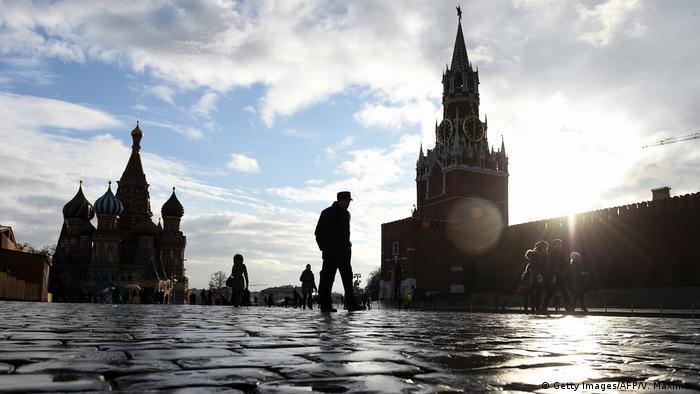 Russland Roter Platz mit Kreml in Moskau (Getty Images/AFP/V. Maximov)