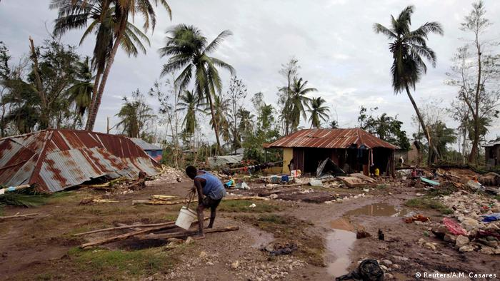Haiti nach Hurrikan Matthew (Reuters/A.M. Casares)