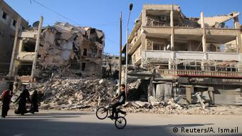 Какво остана от Алепо...