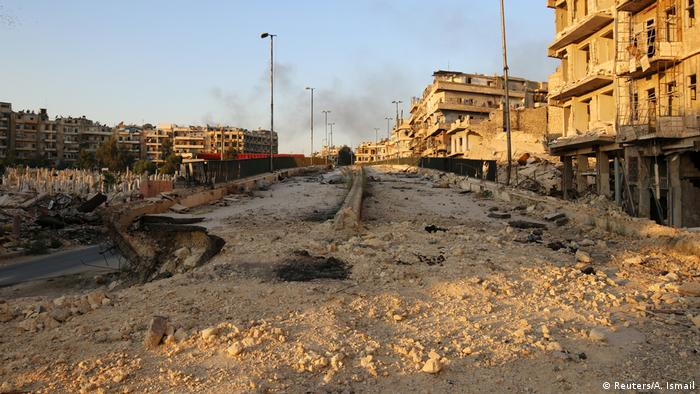 Руїни в Алеппо, 6 жовтня 2016 року