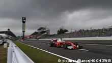 Formel Eins Grand Prix Qualifikation in Japan Vettel