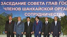 Tadschikistan Schanghai Kooperation Organisation SCO Treffen in Dushanbe