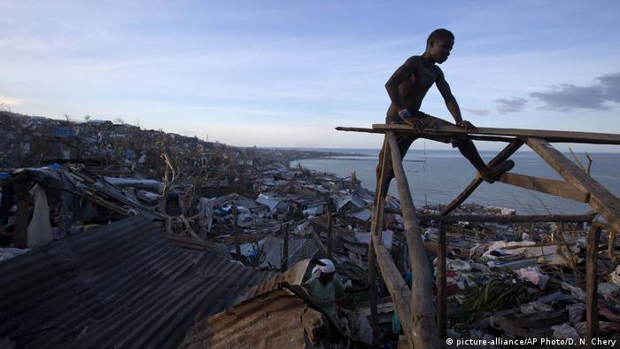 Orkan Matthew in Haiti (picture-alliance/AP Photo/D. N. Chery)