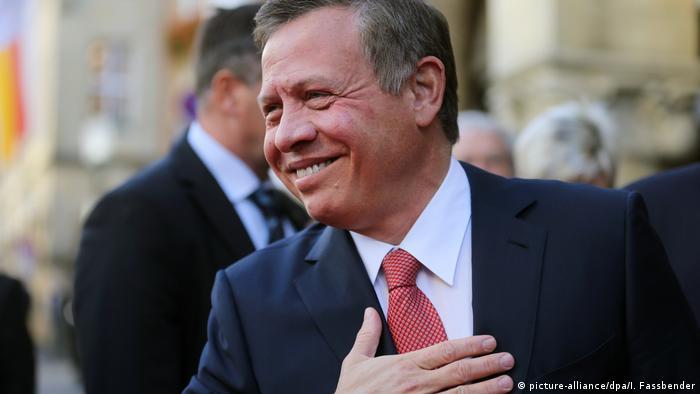 Deutschland Jordaniens König Abdullah II erhält Westfälischen Friedenspreis (picture-alliance/dpa/I. Fassbender)