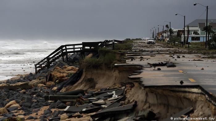 Hurricane Matthew's trail of destruction