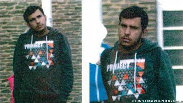Fahndung nach Syrer Dschaber Al-Bakr nach Sprengstoff-Fund in Chemnitz (picture-alliance/dpa/Polizei Sachsen)
