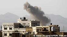 طائرات التحالف بقيادة السعودية تشن غارات جديدة في صنعاء (الصورة من الارشيف)
