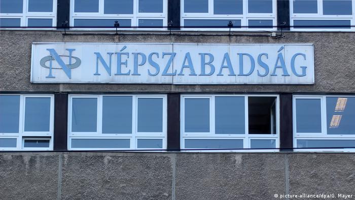 Ungarn Oppositionszeitung Nepszabadsag vor Aus (picture-alliance/dpa/G. Mayer)
