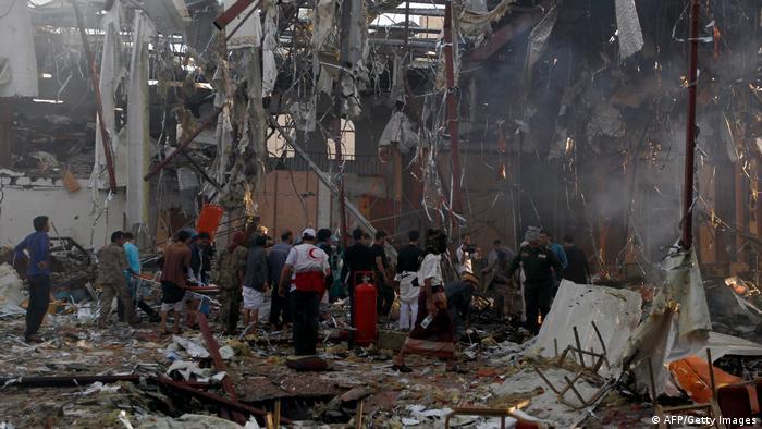 YEMEN-CONFLICT-SANAA-STRIKES (AFP/Getty Images)