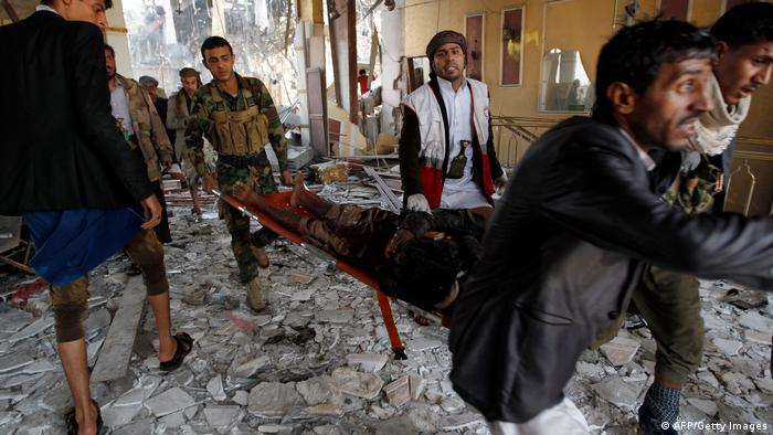 YEMEN-CONFLICT-SANAA-STRIKES (AFP/Getty Images)