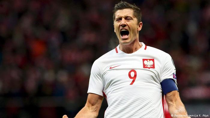 Fußball WM-Qualifikationsspiel Polen vs. Dänemark in Warschau (Reuters/Agencja K. Atys)