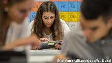 Deutschland Schulen und Internet im Unterricht