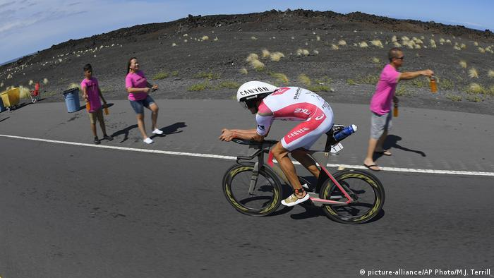 Hawaii Ironman 2016 - Jan Frodeno, Deutschland (picture-alliance/AP Photo/M.J. Terrill)