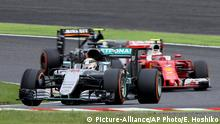 Formel Eins Grand Prix Qualifikation in Japan Lewis Hamilton