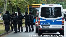 Deutschland Polizeieinsatz in Chemnitz