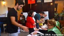 9.10.2016, Tiflis Parlamentswahlen in Georgien. Copyright: DW/A. Oganjanyan