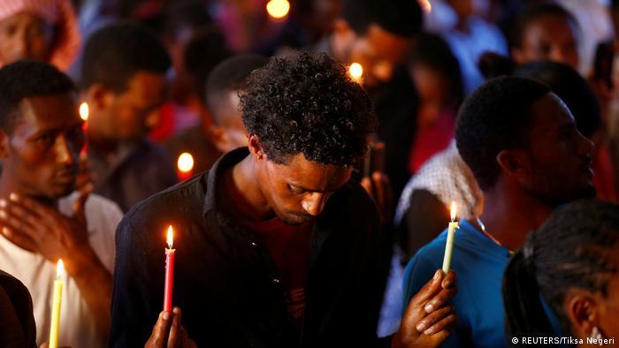 Äthiopien Trauer für gestorbenen Demonstranten