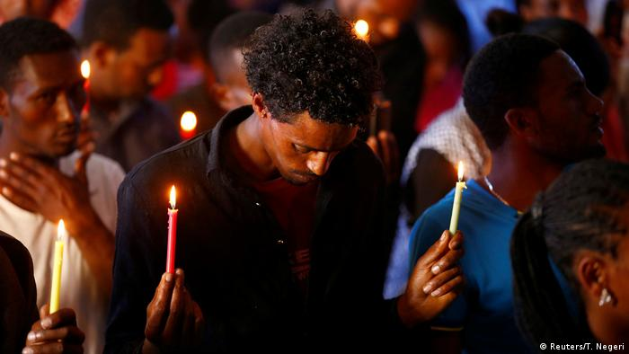 Äthiopien Proteste Gebet (Reuters/T. Negeri)