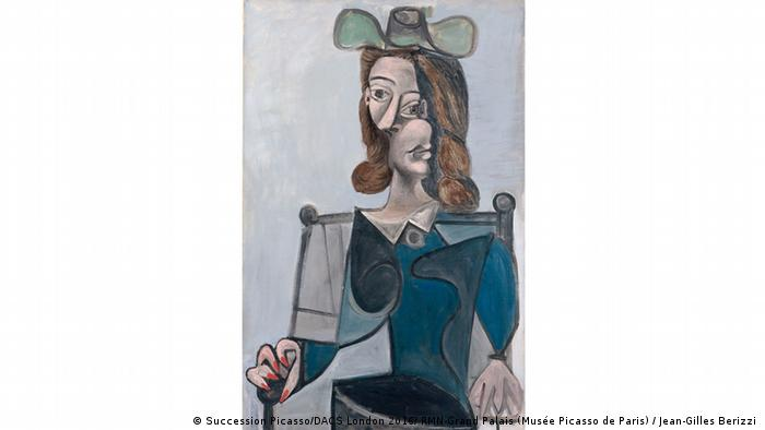 Woman in a Hat Pablo Picasso 1941 (Succession Picasso/DACS London 2016/ RMN-Grand Palais (Musée Picasso de Paris) / Jean-Gilles Berizzi )