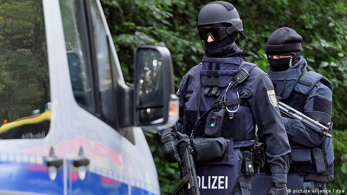 Polizeieinsatz in Chemnitz (picture alliance / dpa)