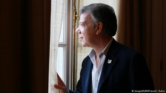 Kolumbien Präsident Juan Manuel Santos (imago/ZUMAPress/C. Rubio)