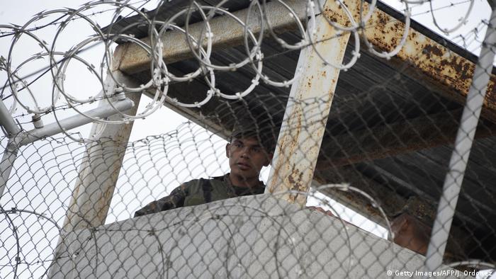 Guatemala Gefängnis Gewalt (Getty Images/AFP/J. Ordonez)