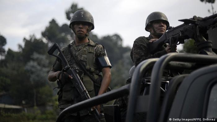 Guatemala Gewalt Soldaten
