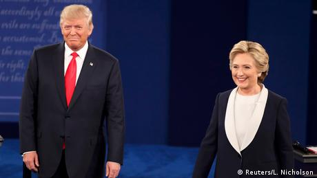 Debate Trump vs Clinton