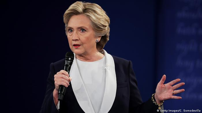 US TV Debatte Trump vs Clinton (Getty Images/C. Somodevilla)