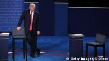 US TV Debatte Trump vs Clinton
