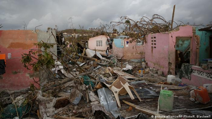 Haiti Hurrican Metthew (picture-alliance/AP Photo/R. Blackwell)