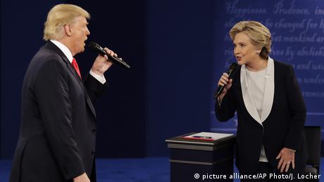 El segundo debate de la campaña presidencial en EE.UU. en San Luis (Misuri), en el que se recibieron preguntas del público, estuvo dominado por los ataques sexuales de Trump, el sistema de salud y la guerra en Siria. (10.10.2016)